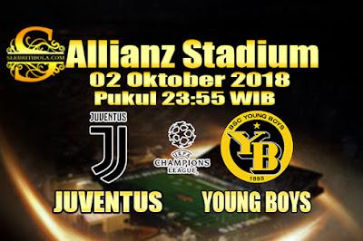 JUDI BOLA DAN CASINO ONLINE - PREDIKSI PERTANDINGAN LIGA CHAMPIONS JUVENTUS VS YOUNG BOYS 02 OKTOBER 2018