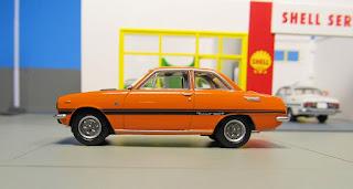 Tomica Limited Vintage LV-137a Isuzu Bellett 1600 GT-R ('69)