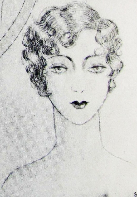 pintucks 1929 hairstyles how to look like a flapper