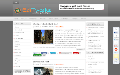 15 Best Professional Templates for Blogger: Must watch list