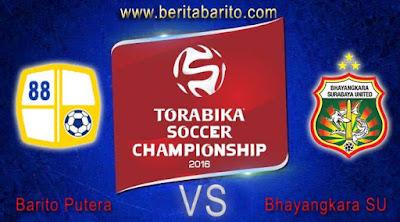Prediksi pertandingan Barito putera VS Bhayangkara surabaya united TSC A 2016