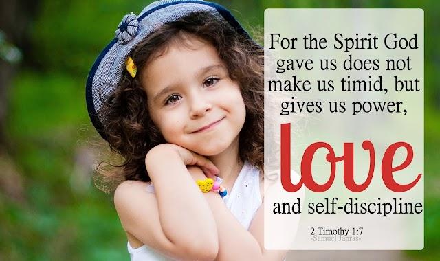 Love Self Discipline Bible Quotes Bible Verse
