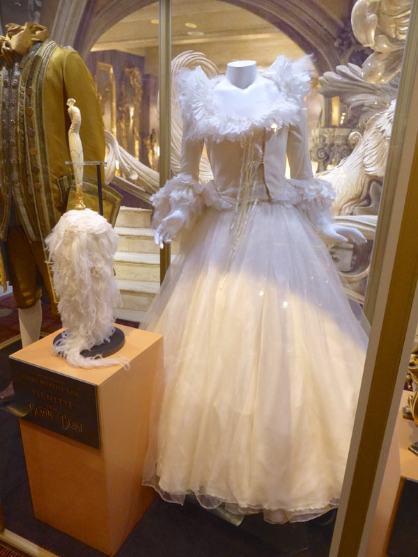 Beauty and the Beast Plumette film costume
