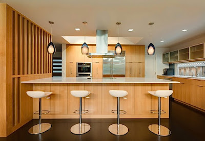 55 Desain Keren Interior Ruang Makan ala Cafe