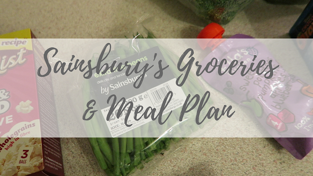 sainsbury's groceries and meal plan