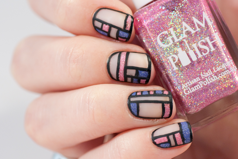 40 Great Nail Art Ideas Pink And Lilac May Contain Traces Of Polish