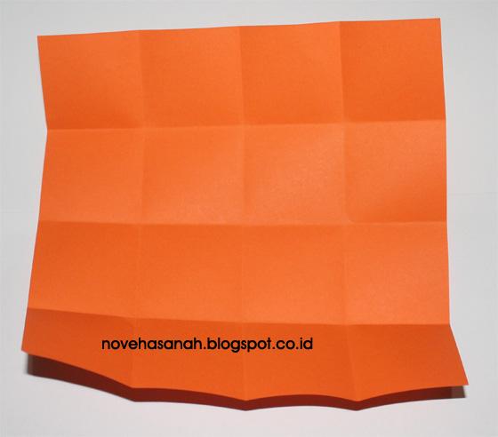 langkah-langkah membuat rumah-rumahan dari kertas origami yang mudah untuk anak sekolah dasar