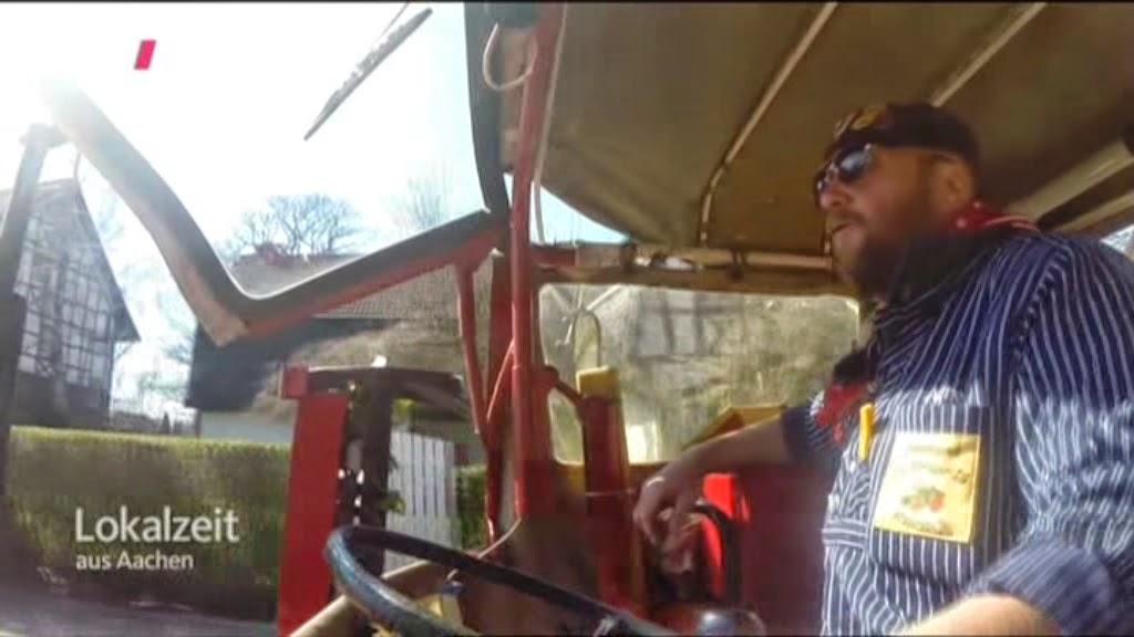 suche der kleine rote traktor
