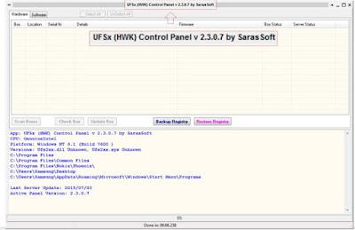 Download UFS Panel HWK 2.3.0.7 by Saras Soft