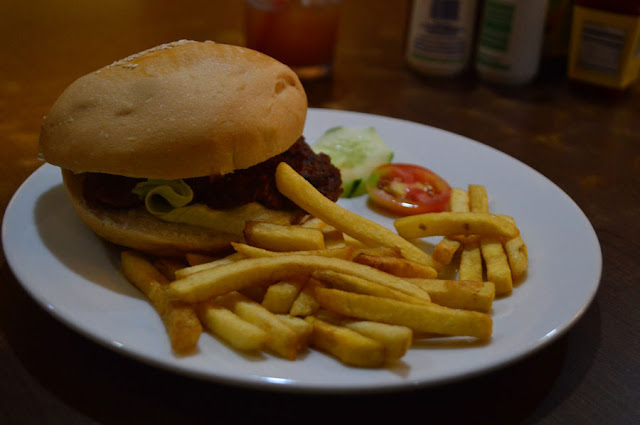 Afffordable Burger at Wimpy's Olongapo