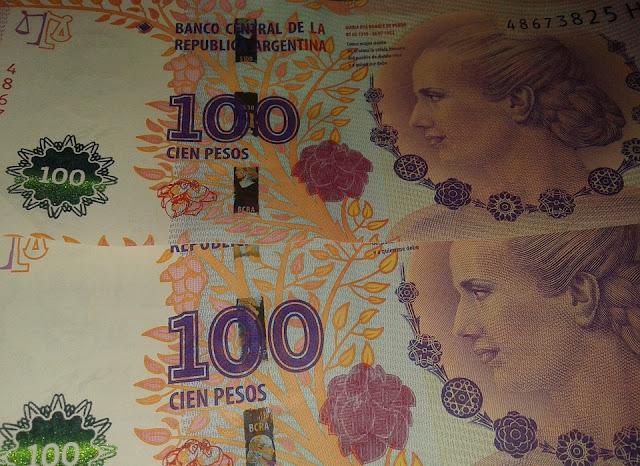 El peso argentino es la moneda local en Argentina.