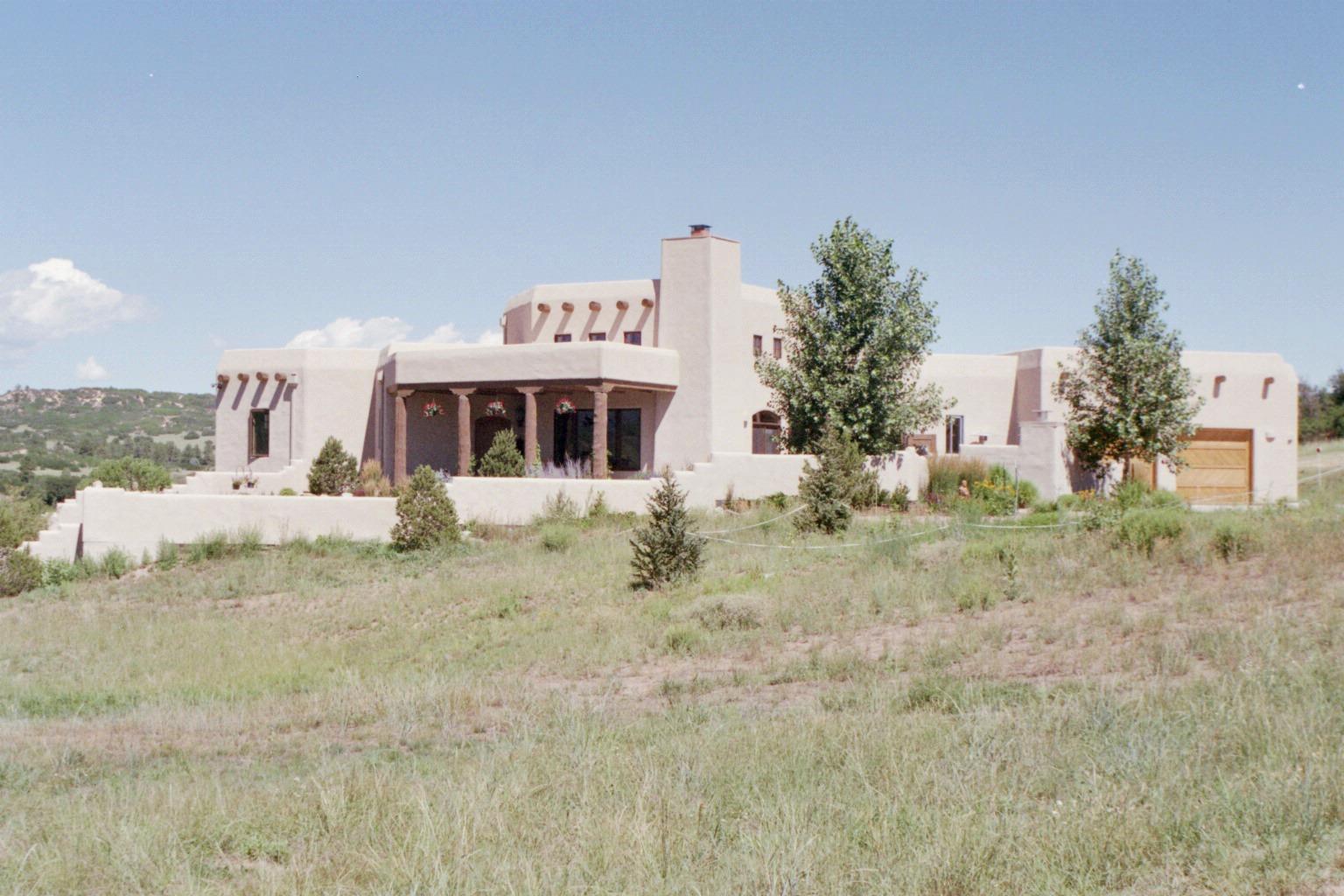 David Elfring Architect Santa Fe Style In Colorado Part 2