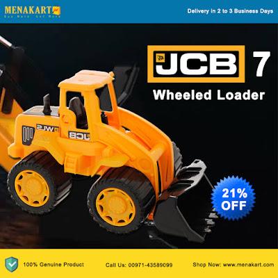 "JCB 7"" Wheeled Loader Toys"