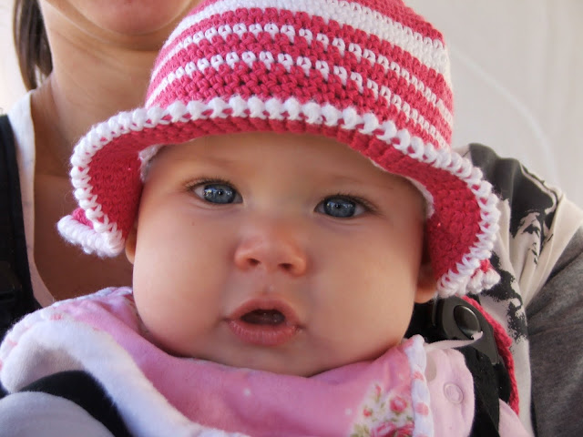 crochet patterns, how to crochet, sun hats, baby hats, summer hats, brimmed hats,