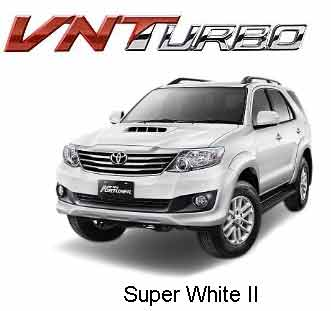New Fortuner Super White II