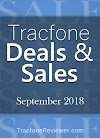 Tracfone Deals and Sales - September 2018