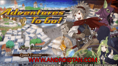 Download Game Adventures to Go! ISO PPSSPP Android Terbaru 2017