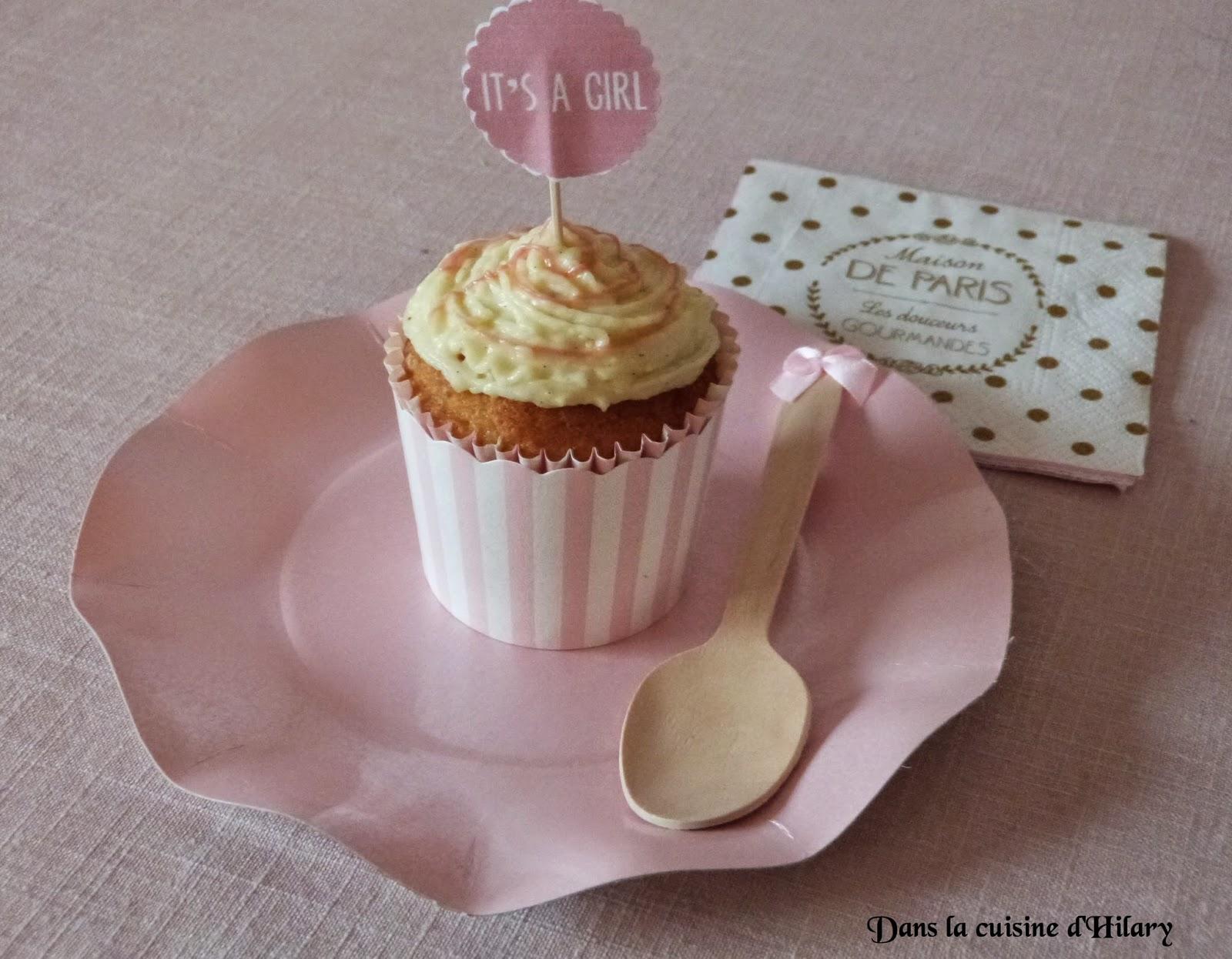 Cupcake tout vanille
