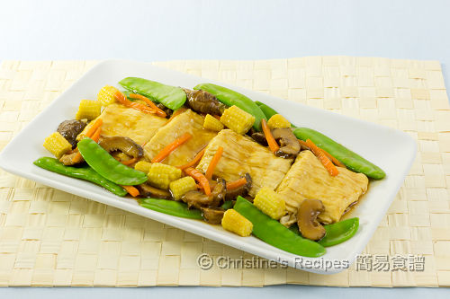 燜鮮豆包 Braised Beancurd Parcels02