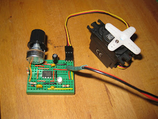 chip and easy servo tester circuit