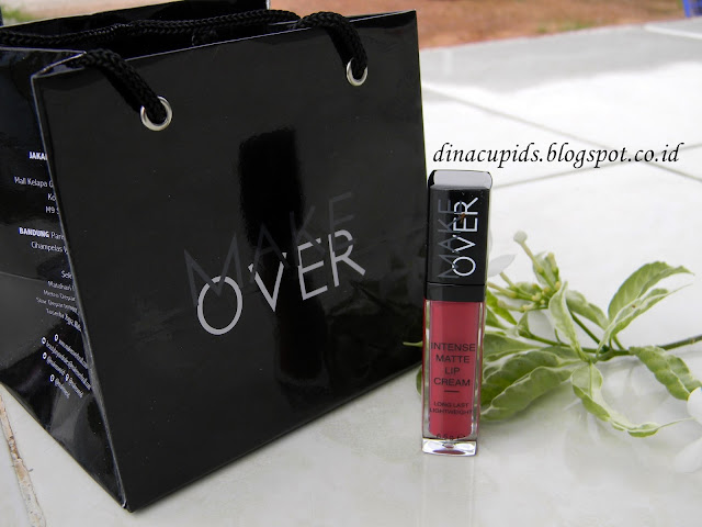 lip cream Make over ( Intense Matte Lip cream  005 Impulse (Review) )