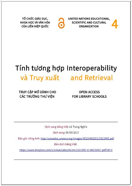 'Tính tương hợp và truy xuất' - bản dịch sang tiếng Việt