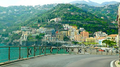 Driving the Amalfi Coast Italy Costiera Amalfitana