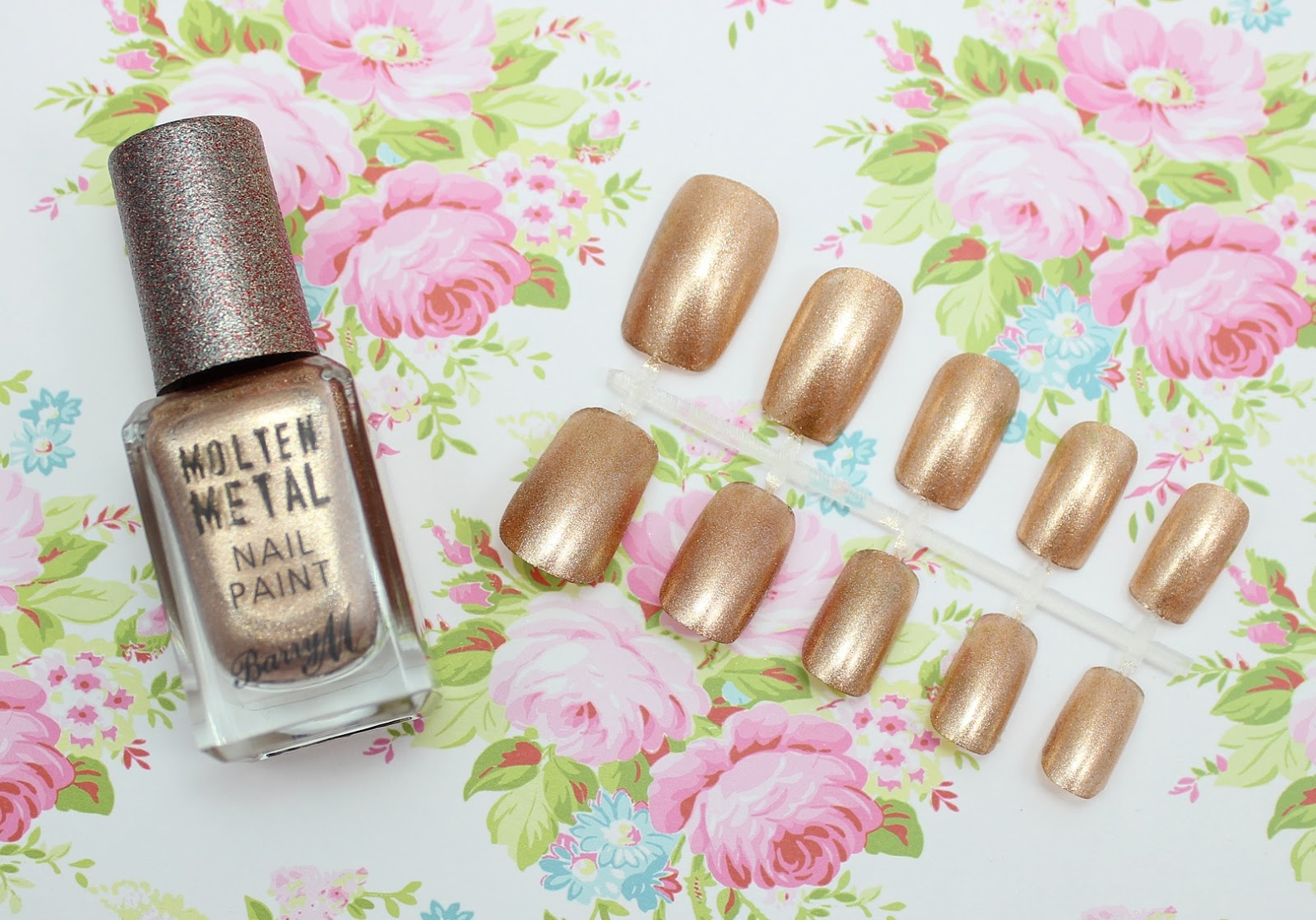 Barry M Molten Metal Nail Paint Bronze Bae review