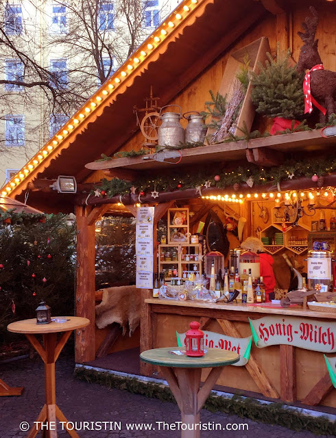 Travel Germany. Christmas Market Munich Haidhausen Honey Products The Touristin