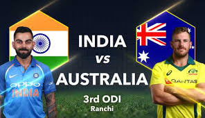 Ind vs Aus 3rd ODI highlight 2019