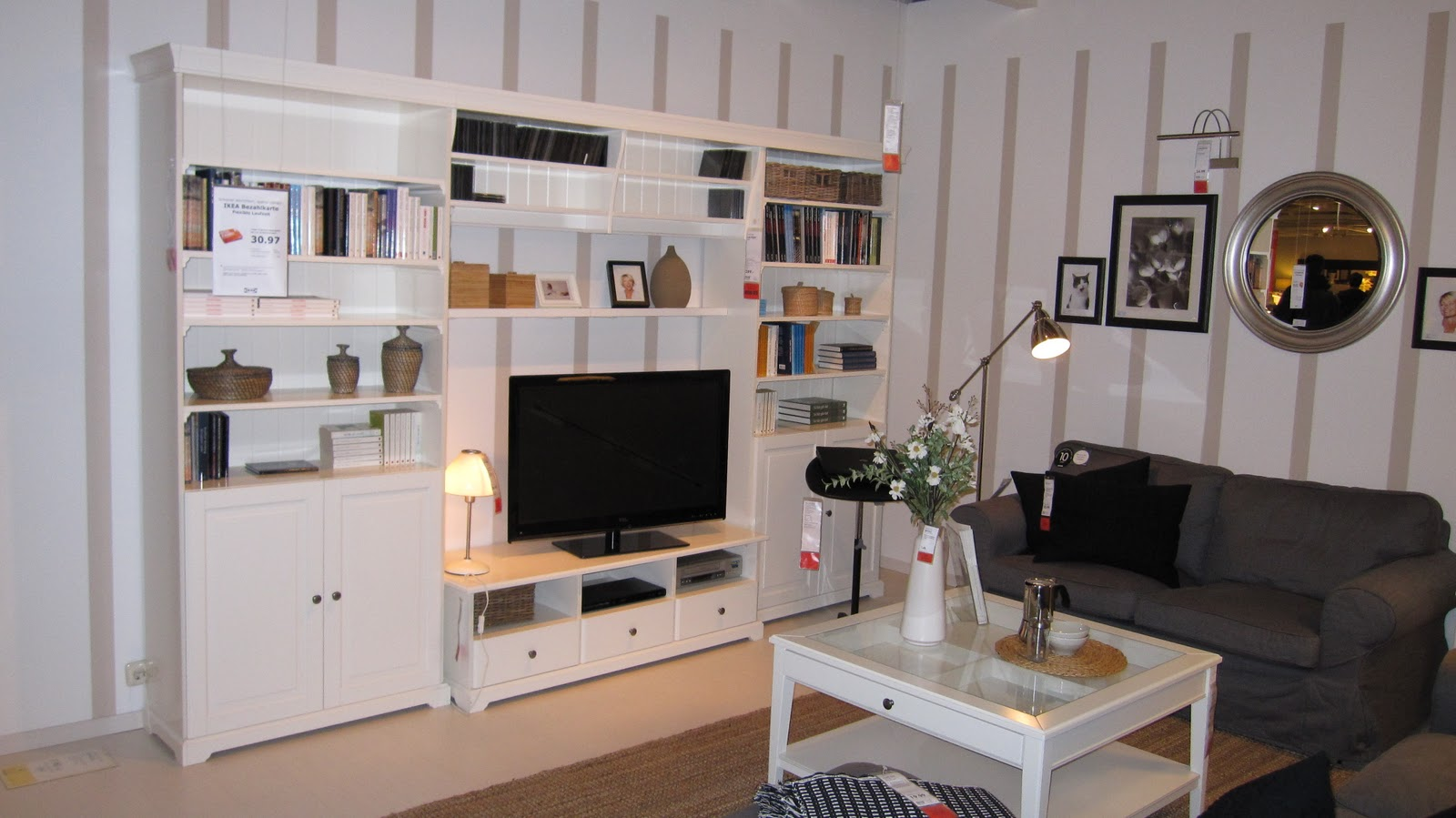 Ikea Wohnwand Braun