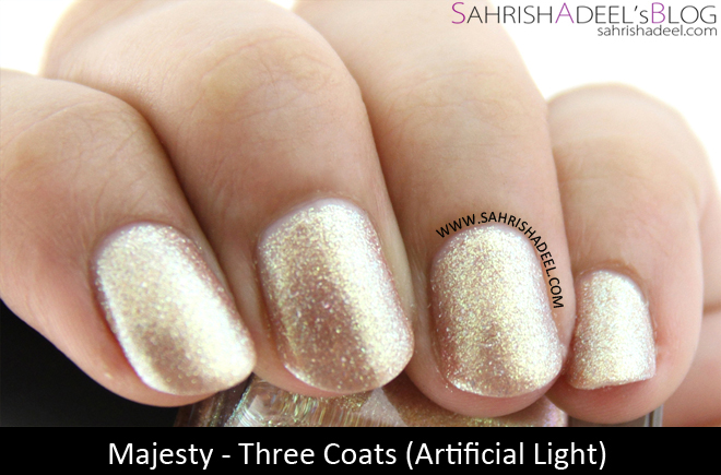 piCture pOlish: Majesty by Sahrish Adeel - Review & Swatches