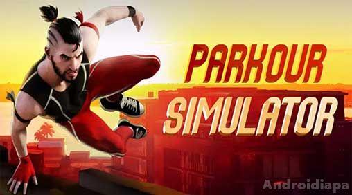 parkour simulator 3d logo