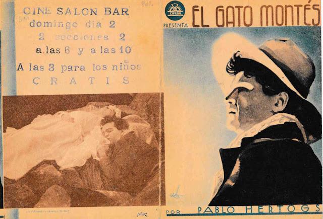398ab2886c Frontal y contraportada del programa de mano español entregado durante el  estreno en 1936 de