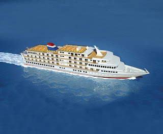 Artists Rendering of American Cruise Line's  New American Constellation