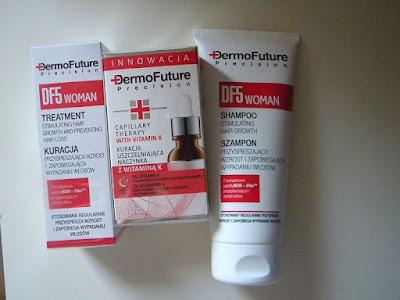 Kosmetyki do włosów od DermoFuture, recenzja.
