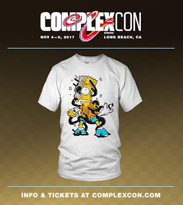 ComplexCon 2017 Exclusive Deconstructed Bart Simpson T-Shirt by Matt Gondek x Avenue des Arts Gallery