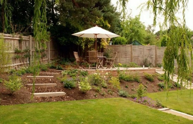 Ideas for sloping gardens