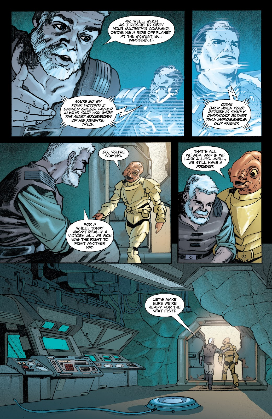 Read online Star Wars Legends: Legacy - Epic Collection comic -  Issue # TPB 2 (Part 4) - 40