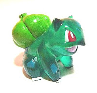 Bulbasaur clear version Pokemon toys Tomy Panarama Bag AG
