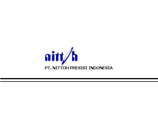 Lowongan PT.Nittoh Presisi Indonesia | Operator produksi Daerah Bogor