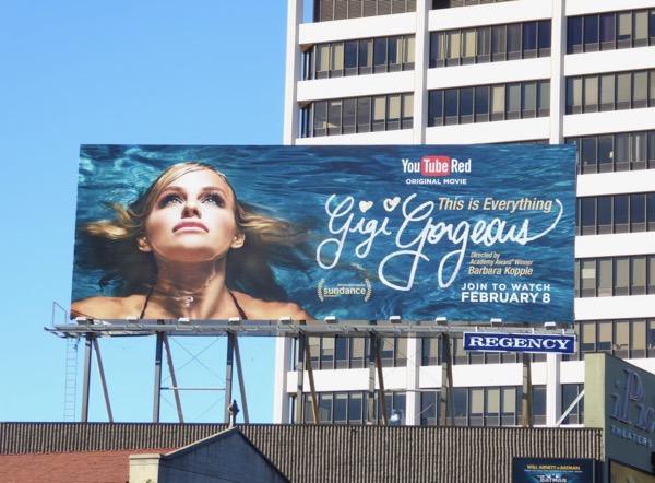 Gigi Gorgeous This is Everything billboard