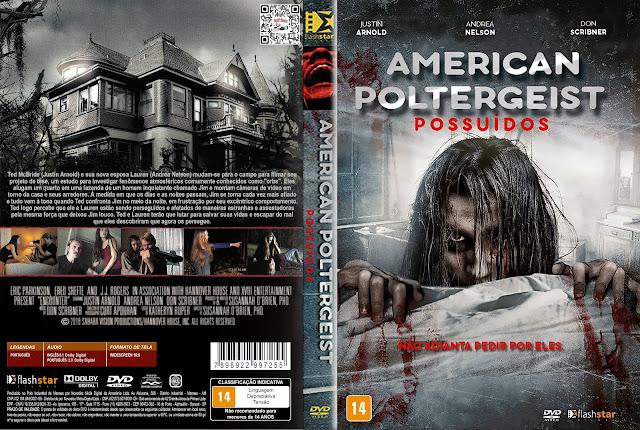 Capa DVD American Poltergeist Possuídos [Exclusiva]