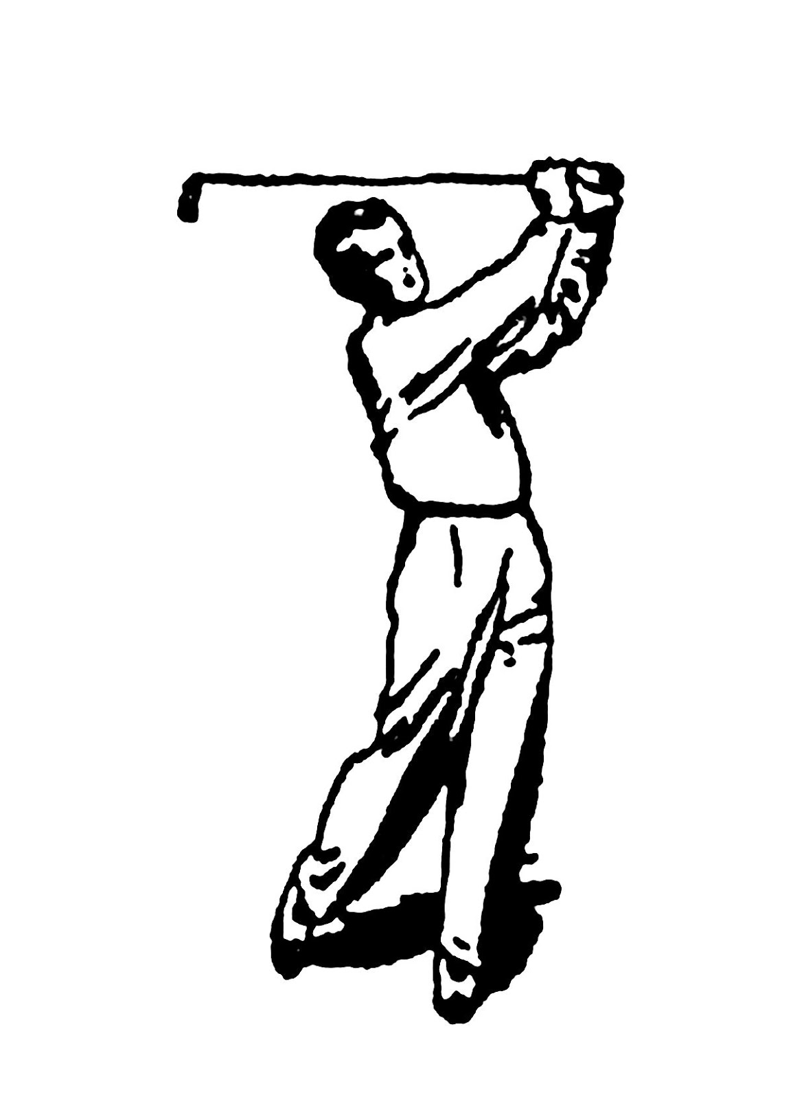 free vintage golf clip art - photo #16