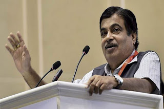 Nitin Gadkari inaugurates a bridge over river Ravi in Kathua