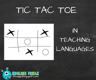 Tic tac Toe in teaching - kółko i krzyżyk w nauczaniu