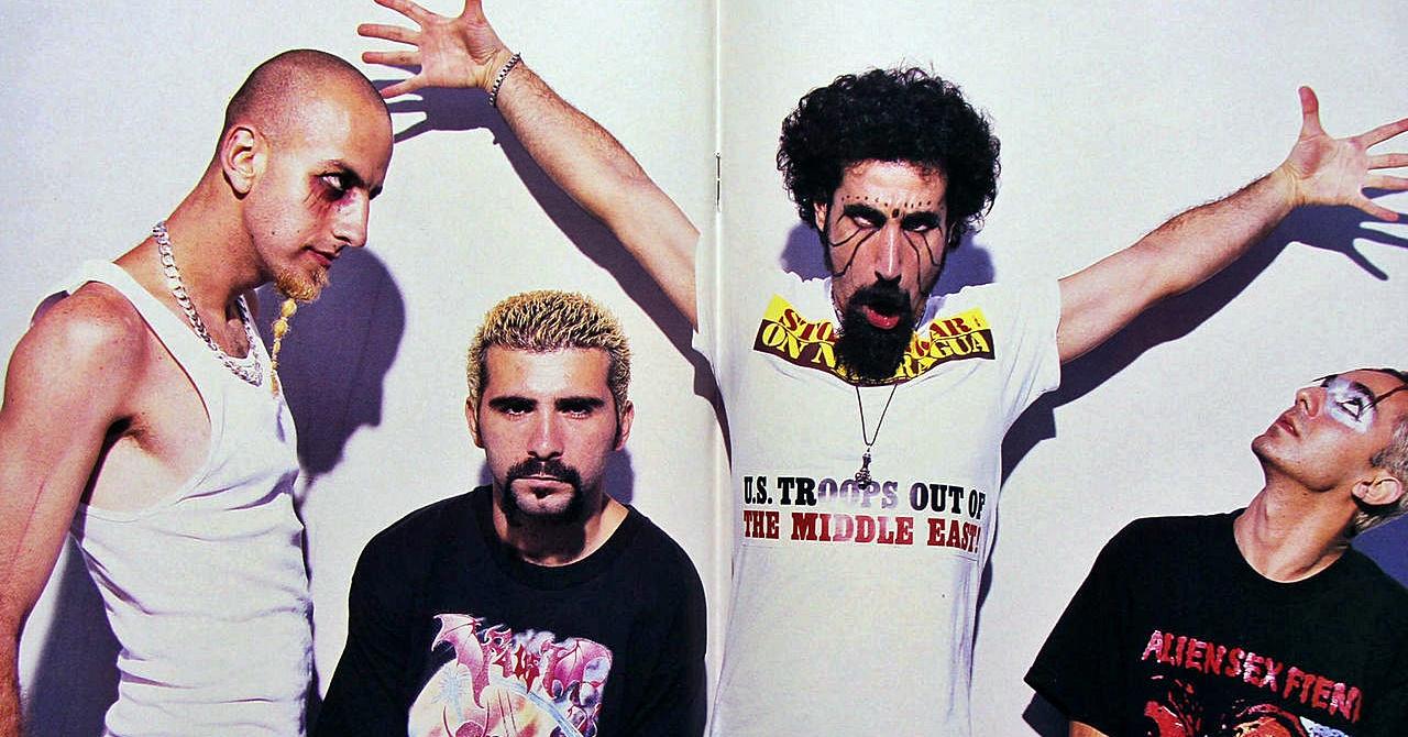 primeiro álbum do system of a down foi feito para causar mosh pit