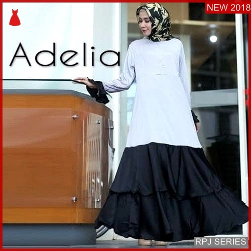RPJ156D80 Model Dress Adelia Cantik Dress Wanita