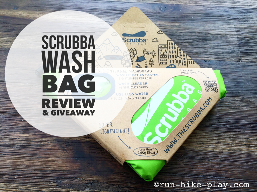 Scrubba Wash Bag Review Giveaway