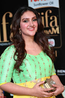 Sridevi Telugu Actressi in green Yellow Anarkali Dress at IIFA Utsavam Awards 009.JPG